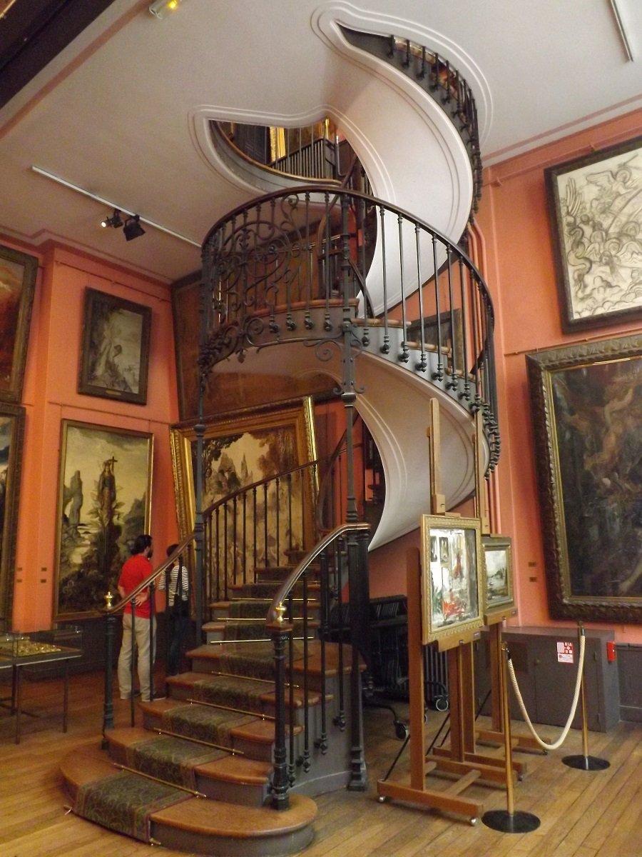 escalier musée g moreau