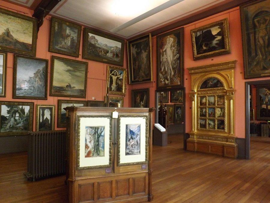 salle étage musée g moreau