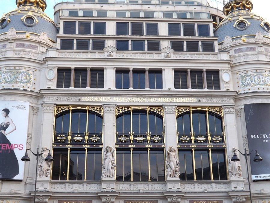 photo façade Printemps