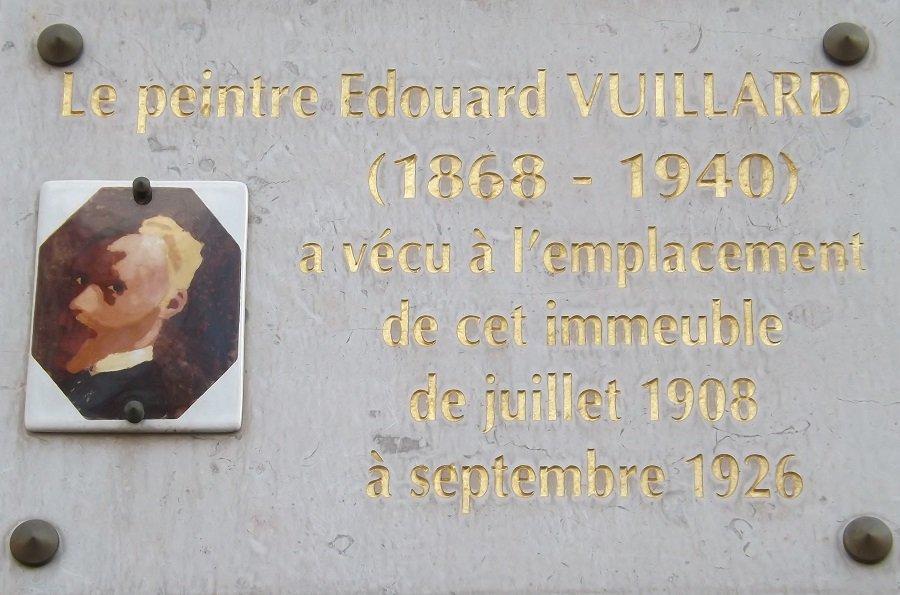 plaque vuillard