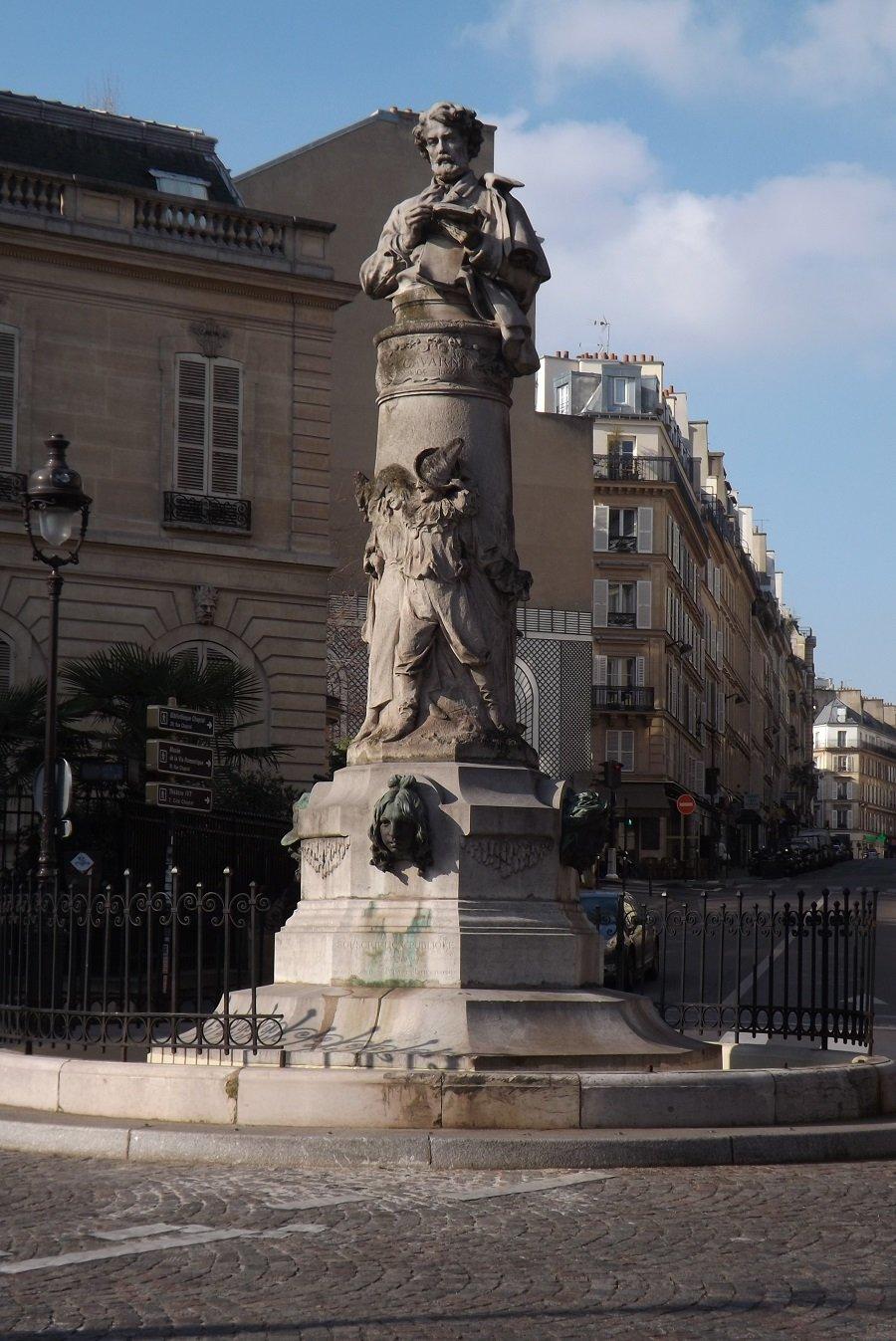 vue générale fontaine gavarni