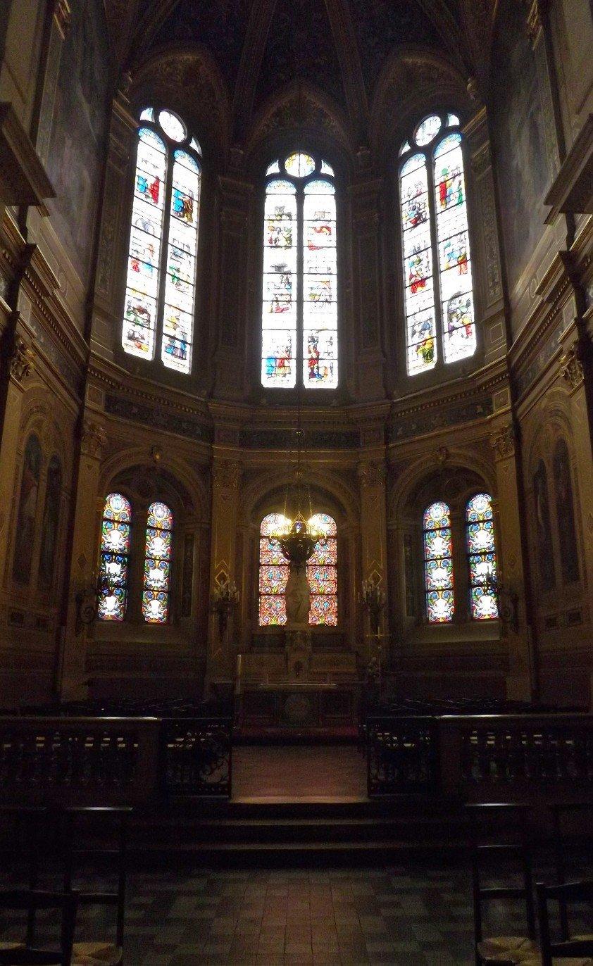 chapelle axiale trinité paris