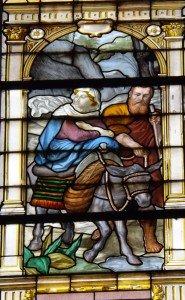 vitraux chapelle axiale trinité paris