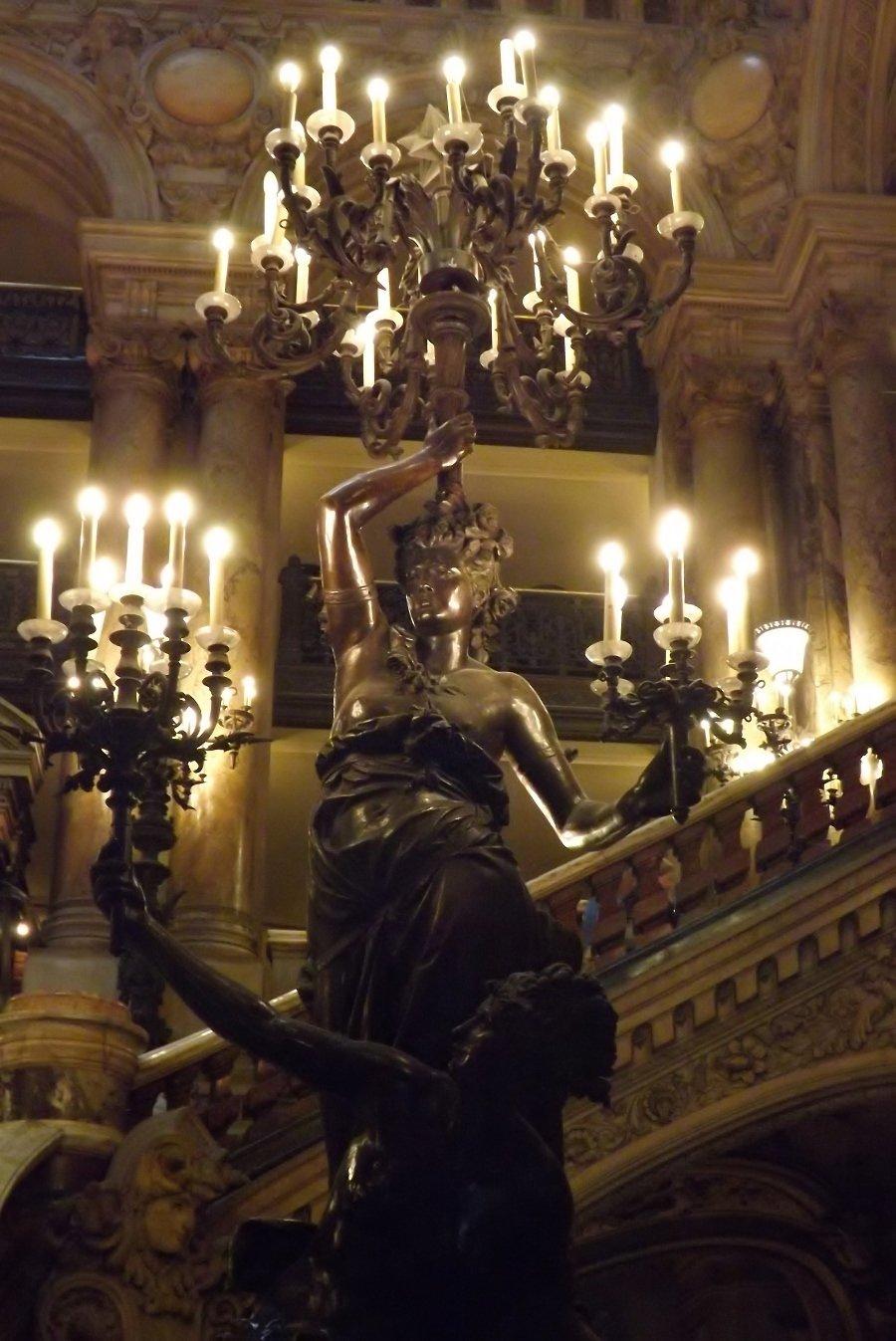 Carrier-Belleuse figures bras lumière