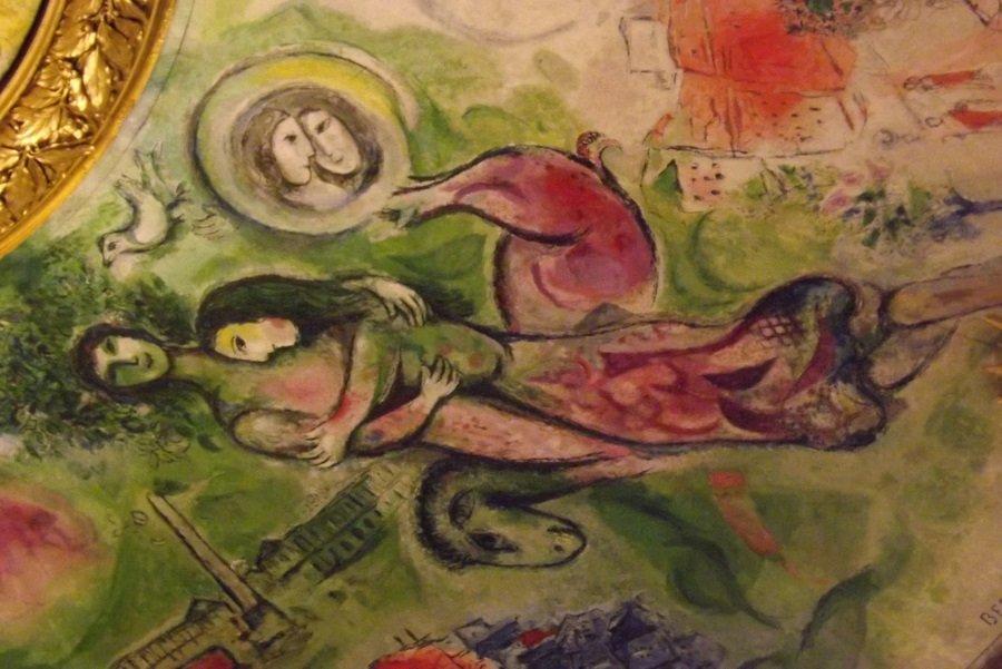 détail peinture chagall