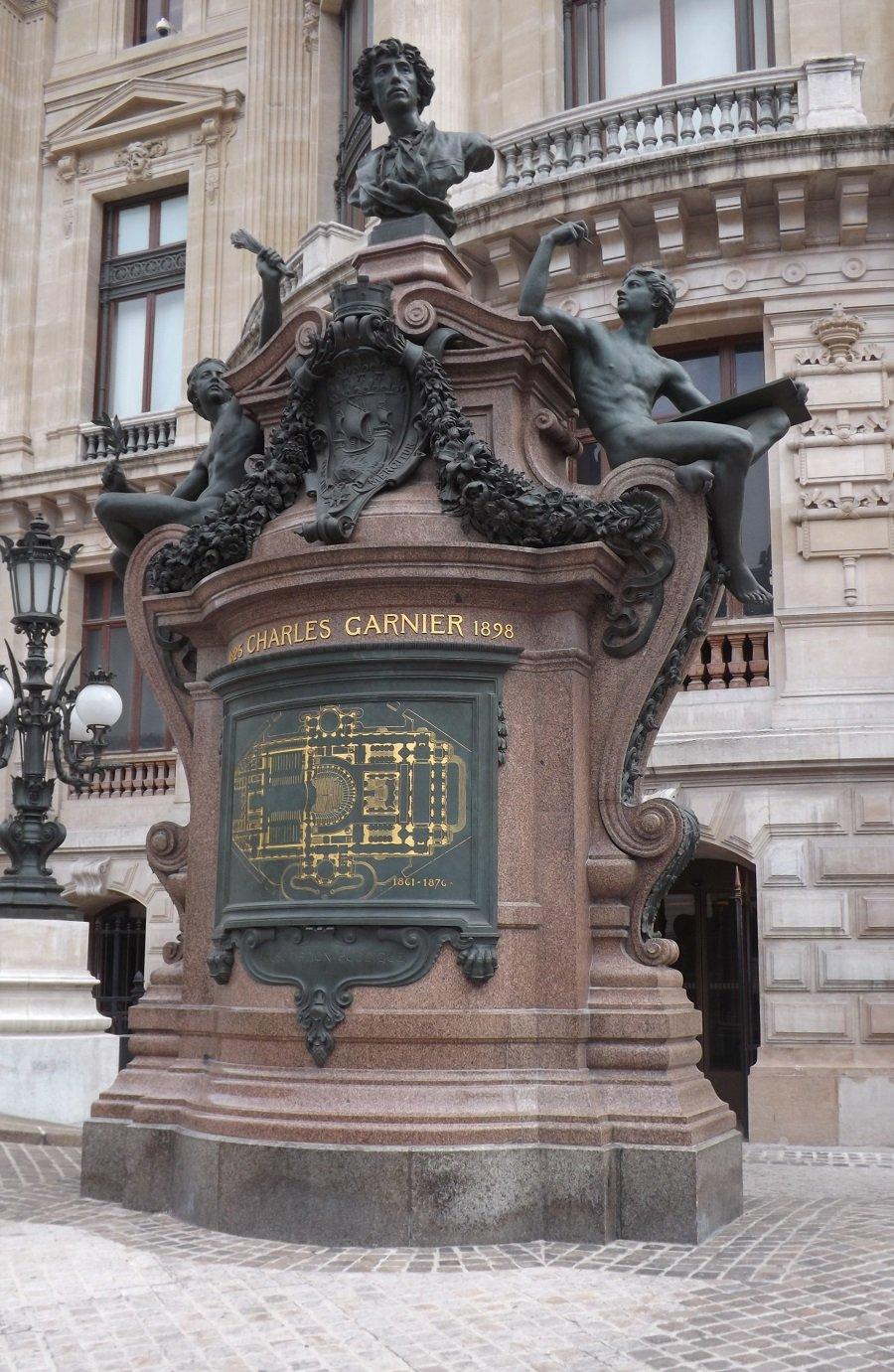 monument à charles garnier