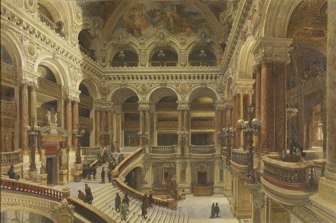 Navlet escalier opéra