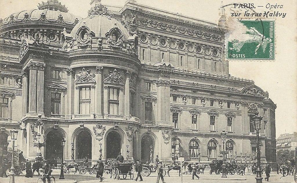opéra pavillon abonnés ou Glacier