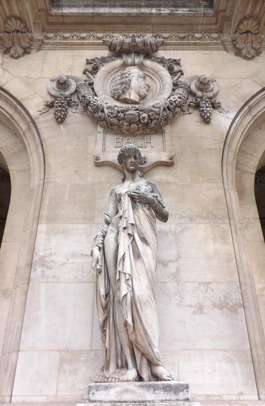 statue opéra garnier façade